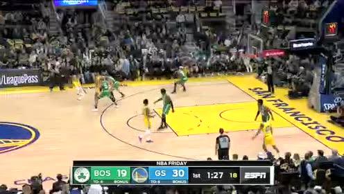 2019年11月16日NBA常规赛 凯尔特人VS勇士 全场录像回放视频