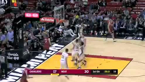 2019年11月21日NBA常规赛 骑士VS热火 全场录像回放视频
