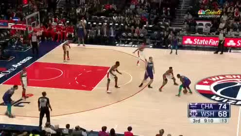 2019年11月23日NBA常规赛 黄蜂VS奇才 全场录像回放视频