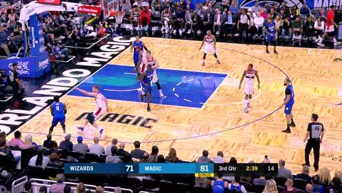 2019年11月18日NBA常规赛 奇才VS魔术 全场录像回放视频