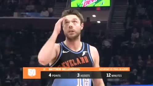 2019年11月26日NBA常规赛 篮网VS骑士 全场录像回放视频