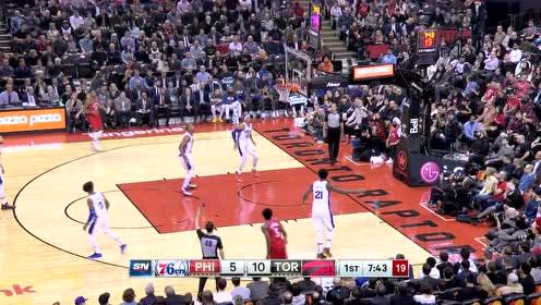 2019年11月26日NBA常规赛 76人VS猛龙 全场录像回放视频