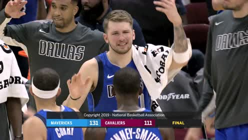 2019年11月04日NBA常规赛 独行侠VS骑士 全场录像回放视频