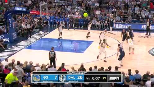 2019年11月21日NBA常规赛 勇士VS独行侠 全场录像回放视频