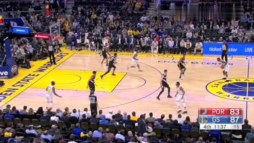 2019年11月05日NBA常规赛 开拓者VS勇士 全场录像回放视频