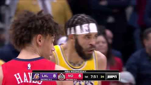 2019年11月28日NBA常规赛 湖人VS鹈鹕 全场录像回放视频