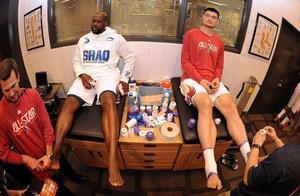 NBA球星身体各部位之最!波什因脖子少报2厘米身高,姚明小腿最粗