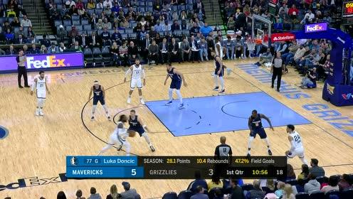2019年11月10日NBA常规赛 独行侠VS灰熊 全场录像回放视频