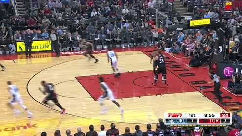 2019年11月21日NBA常规赛 魔术VS猛龙 全场录像回放视频
