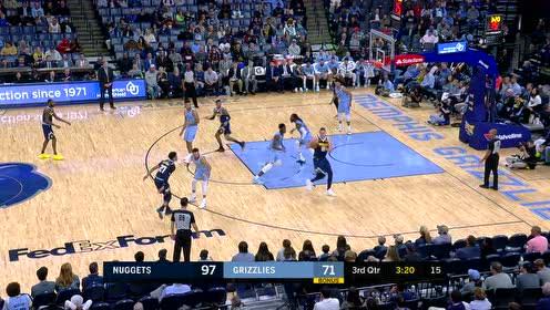 2019年11月18日NBA常规赛 掘金VS灰熊 全场录像回放视频