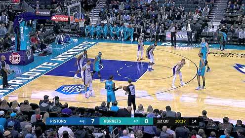 2019年11月16日NBA常规赛 活塞VS黄蜂 全场录像回放视频
