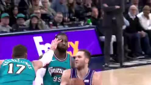 2019年11月30日NBA常规赛 爵士VS灰熊 全场录像回放视频