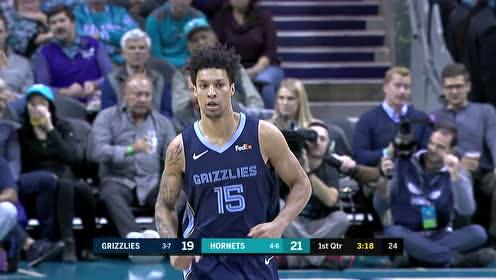 2019年11月14日NBA常规赛 灰熊VS黄蜂 全场录像回放视频