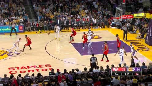 2019年11月18日NBA常规赛 老鹰VS湖人 全场录像回放视频