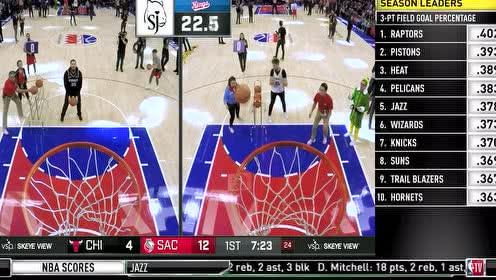 2019年12月03日NBA常规赛 公牛VS国王 全场录像回放视频