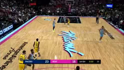 2019年12月28日NBA常规赛 步行者VS热火 全场录像回放视频