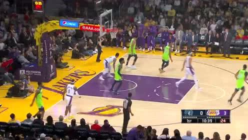 2019年12月09日NBA常规赛 森林狼VS湖人 全场录像回放视频
