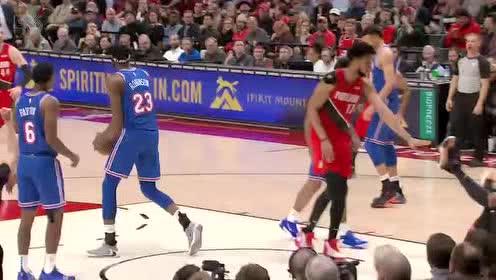 2019年12月11日NBA常规赛 尼克斯VS开拓者 全场录像回放视频
