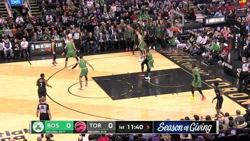 2019年12月26日NBA常规赛 凯尔特人VS猛龙 全场录像回放视频