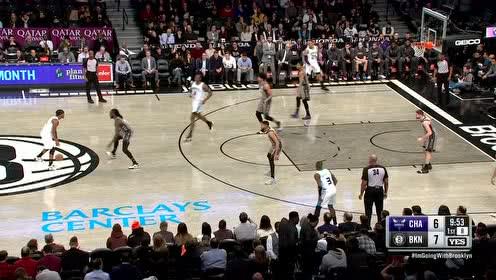 2019年12月12日NBA常规赛 黄蜂VS篮网 全场录像回放视频