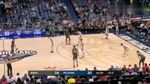 2019年12月16日NBA常规赛 魔术VS鹈鹕 全场录像回放视频