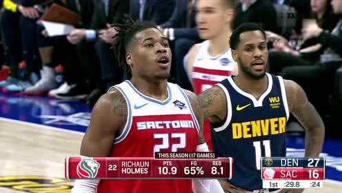 2019年12月01日NBA常规赛 掘金VS国王 全场录像回放视频