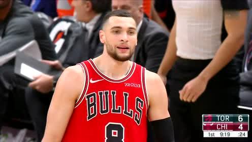 2019年12月10日NBA常规赛 猛龙VS公牛 全场录像回放视频