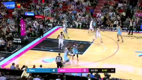 2019年12月29日NBA常规赛 76人VS热火 全场录像回放视频