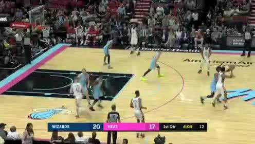 2019年12月07日NBA常规赛 奇才VS热火 全场录像回放视频