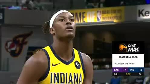 2019年12月21日NBA常规赛 国王VS步行者 全场录像回放视频