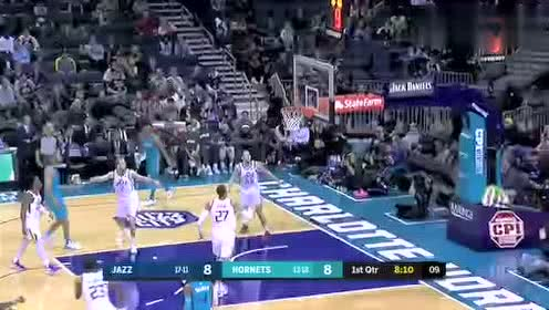 2019年12月22日NBA常规赛 爵士VS黄蜂 全场录像回放视频
