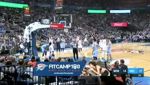 2019年12月27日NBA常规赛 灰熊VS雷霆 全场录像回放视频