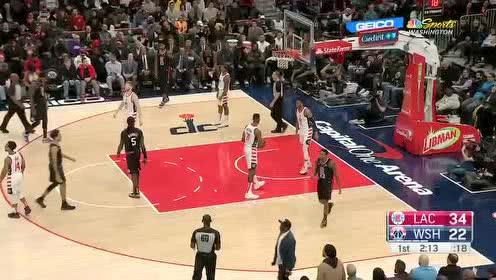 2019年12月09日NBA常规赛 快船VS奇才 全场录像回放视频