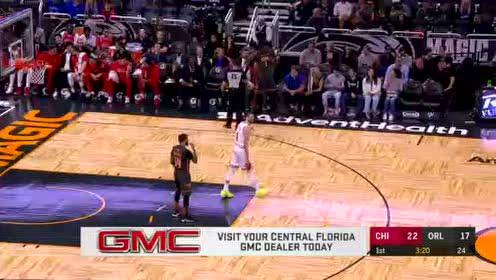 2019年12月24日NBA常规赛 公牛VS魔术 全场录像回放视频