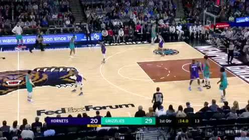 2019年12月30日NBA常规赛 黄蜂VS灰熊 全场录像回放视频