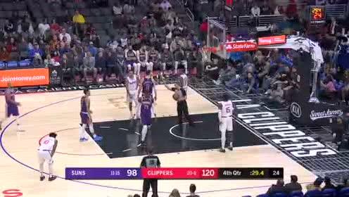 2019年12月18日NBA常规赛 太阳VS快船 全场录像回放视频