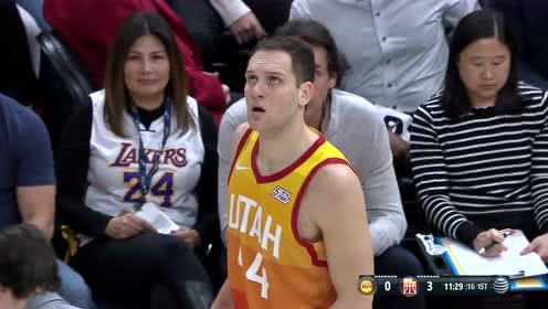 2019年12月05日NBA常规赛 湖人VS爵士 全场录像回放视频