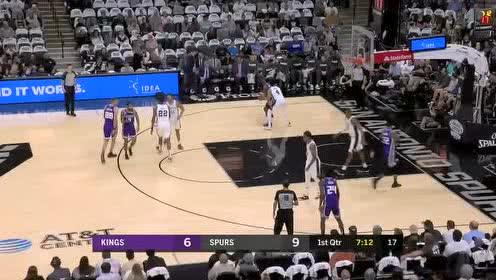 2019年12月07日NBA常规赛 国王VS马刺 全场录像回放视频