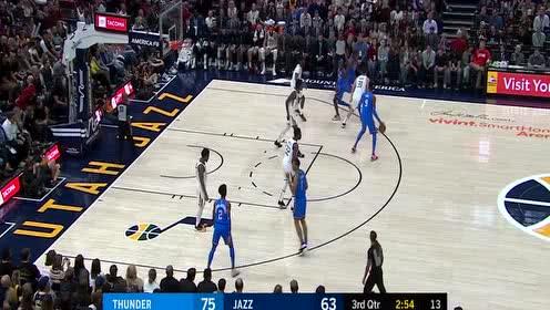 施罗德vs爵士集锦 27分3篮板追身三分一箭穿心