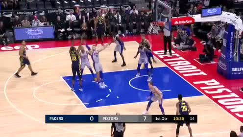 2019年12月07日NBA常规赛 步行者VS活塞 全场录像回放视频
