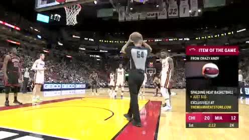 2019年12月09日NBA常规赛 公牛VS热火 全场录像回放视频