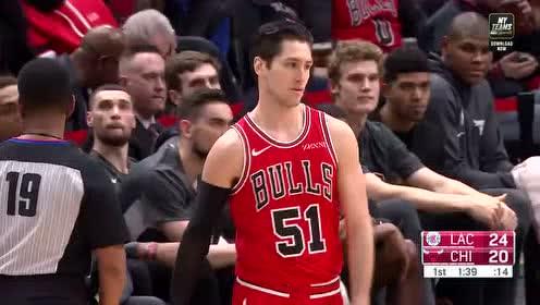 2019年12月15日NBA常规赛 快船VS公牛 全场录像回放视频