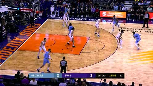 2019年12月12日NBA常规赛 灰熊VS太阳 全场录像回放视频