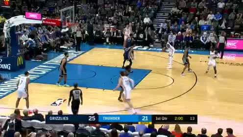 2019年12月19日NBA常规赛 灰熊VS雷霆 全场录像回放视频