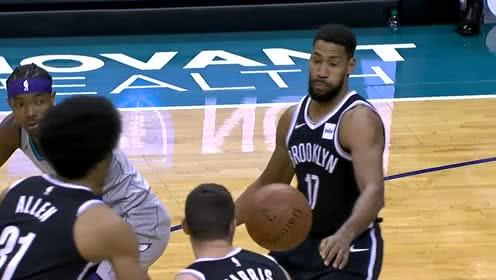 2019年12月07日NBA常规赛 篮网VS黄蜂 全场录像回放视频