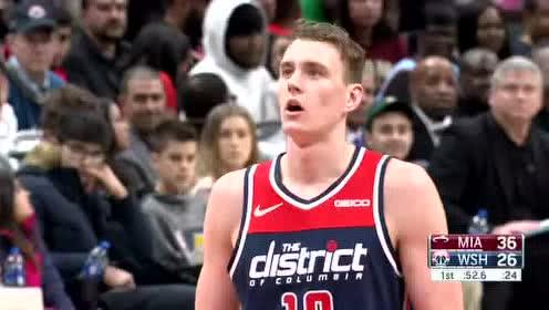 2019年12月31日NBA常规赛 热火VS奇才 全场录像回放视频
