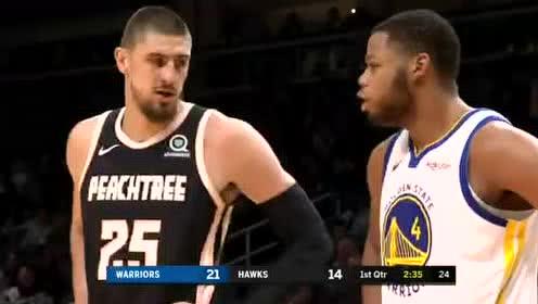 2019年12月03日NBA常规赛 勇士VS老鹰 全场录像回放视频