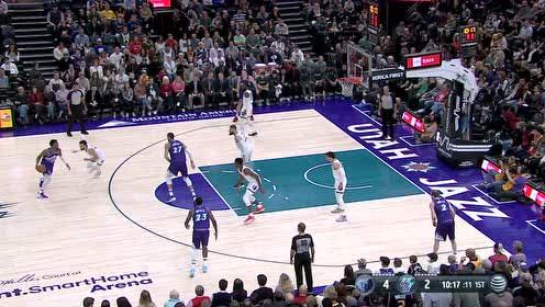 2019年12月08日NBA常规赛 灰熊VS爵士 全场录像回放视频