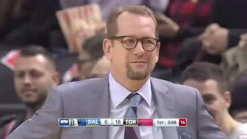 2019年12月23日NBA常规赛 独行侠VS猛龙 全场录像回放视频