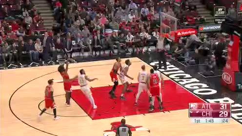 2019年12月12日NBA常规赛 老鹰VS公牛 全场录像回放视频